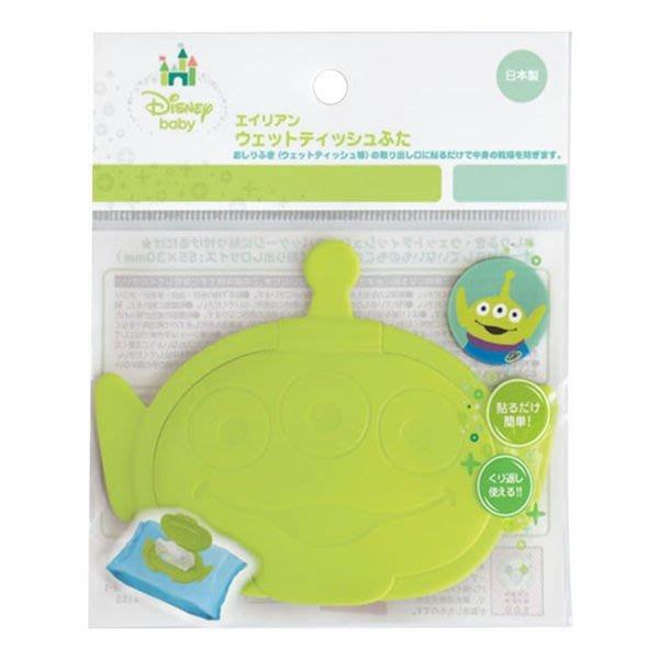 幸福♥SHOP  阿卡將 迪士尼 日本製 三眼怪  攜帶式濕紙巾專用蓋 重覆黏貼 日本製
