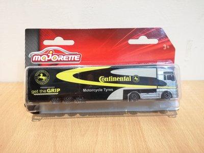 ~ 阿開王 ~ Majorette Man Continental 1/64 美捷輪 德國馬牌輪胎 運輸車