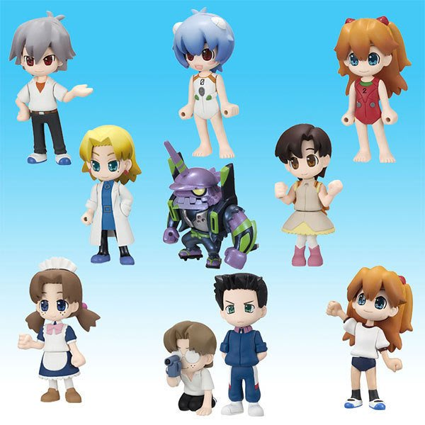 新奇玩具☆ 福音戰士生活人型 第2集 全10款(含隱藏版)