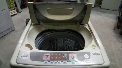聲寶11公斤洗衣機八成新4000含運保固