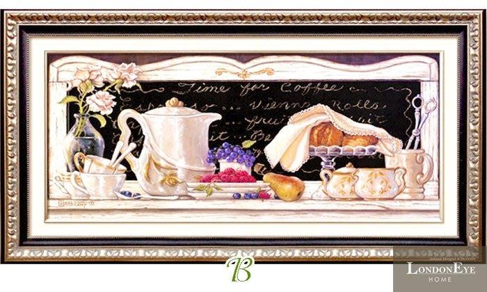 【 LondonEYE 】小法國系列-春日派對X經典下午茶 優雅仕女/浪漫藝術風格裝飾畫 可配套 樣品屋/豪宅 PT67