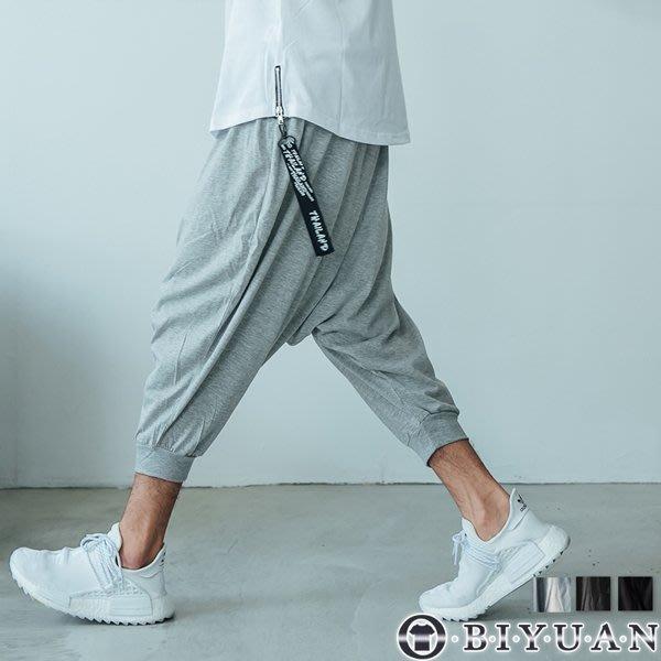 飛鼠褲【OBIYUAN】七分褲  彈性棉質短褲 休閒褲 MIT製 共3色【SP330】