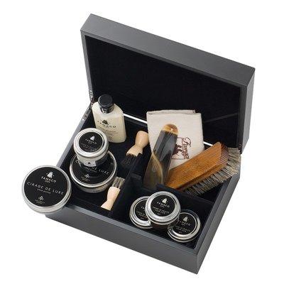 JS精品店-法國原裝進口皮具護理鞋護理套裝皮包保養油禮盒禮品裝#鞋油#皮革護理