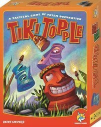 (送牌套)推倒提基 Tiki Topple 推倒堤基 大盒 繁中全新正版  美版 大盒版