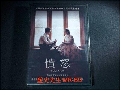 [DVD] - 憤怒 indignation ( 得利公司貨 )