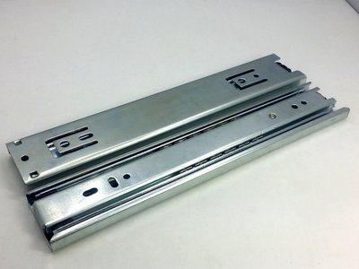 抽屉滑轨、三節滑軌、  鋼珠滑軌 500mm