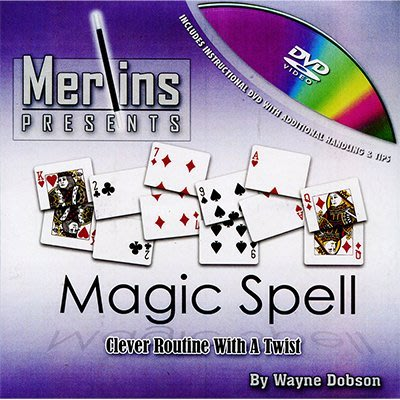 【天天魔法】【S465】正宗原廠~魔術拼字~Magic Spell by Wayne Dobson