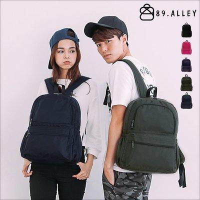 加賀皮件 89.Alley 輕量 多色 素色 防潑水牛津布 休閒包 情侶包女包男包 後背包 HB89140