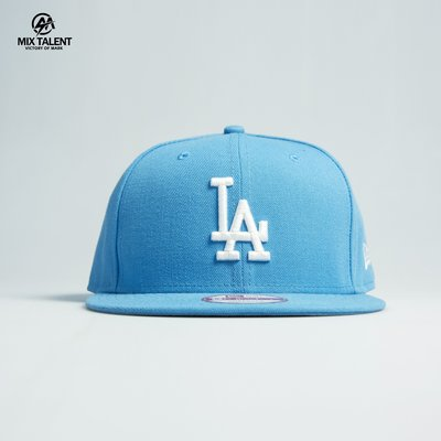 NEW ERA MLB 洛杉磯道奇 後扣棒球帽 藍/白  9FIFTY 限量訂製帽 【MIX TALENT】