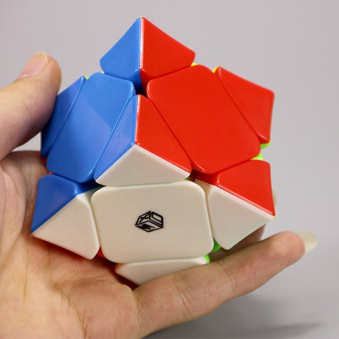 (低價衝量)魔術方塊奇藝磁力斜轉魔方翼斜轉凹面異形魔方順滑競速專業比賽魔方魔術方塊