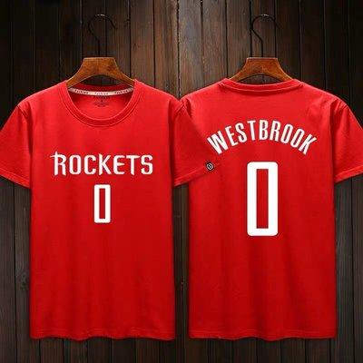 💖威少Russell Westbrook短袖T恤上衣💖NBA火箭隊Adidas愛迪達運動籃球服T-shirt男900