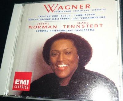二手CD WAGNER OPERATIC SCENE JESSYE NORMAN TENNSTEDT EMI 日版