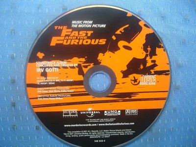 [無殼光碟]F The FAST and the Furious   玩命關頭電影原聲帶