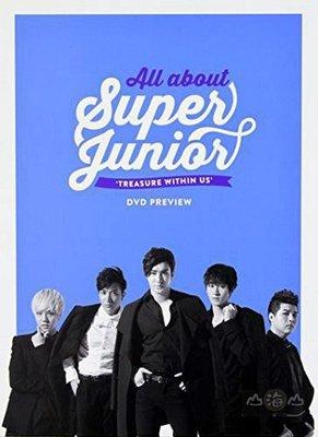 【出清價】All About Super Junior/Super Junior---SMMD3025