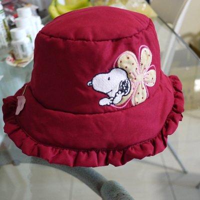 二手SNOOPY鋪棉魚夫帽 一元起標