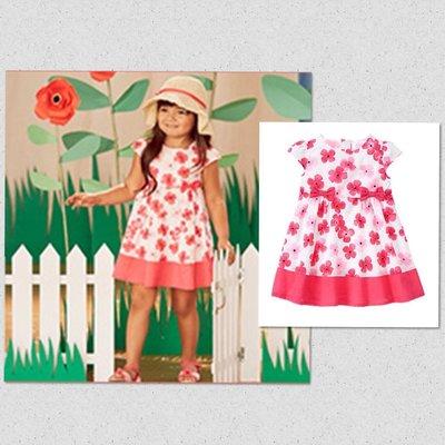 美國GYMBOREE正品 新款 Floral Dress 粉色花朵連身裙洋裝 3T.4T....售630元