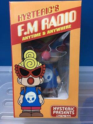絕版 全新未開封 Hysteric Mini 收音機 (藍色)