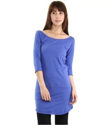 特價「NSS』BASE CONTROL BC  藍色 素面 洋裝 連身裙 02 日本製 M
