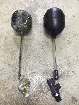 全PVC水塔進水器 浮球開關組 1-1/2管徑