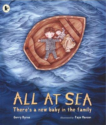 海流記 英文 All at Sea There's a New Baby in the Family 二孩繪本 家庭成員