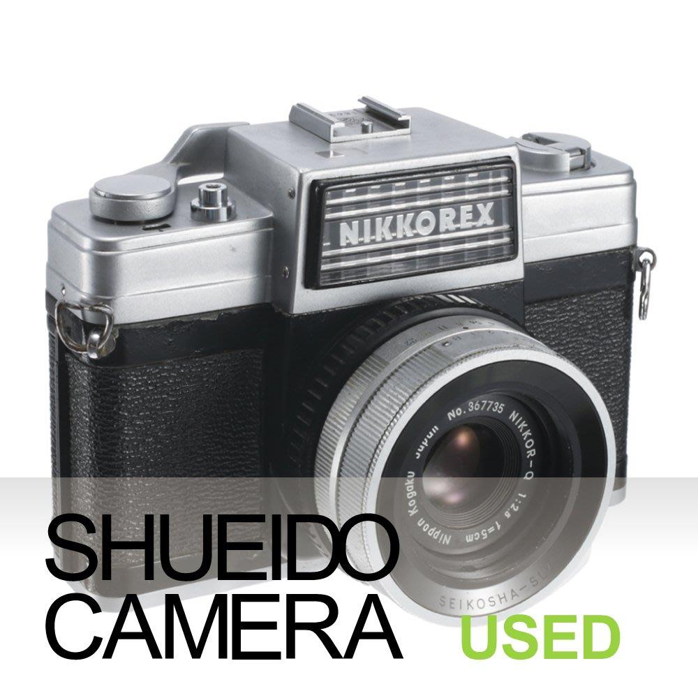 集英堂写真機【全國免運】現狀品 NIKON NIKKOREX NIKKOR-Q 50mm F2.5 底片相機 18899