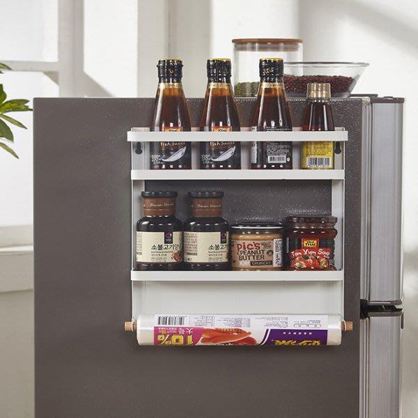 多功能磁吸置物架 廚房收納 冰箱儲物架