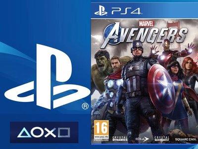 SONY PlayStation4 PS4 pro 漫威復仇者聯盟《中文版》
