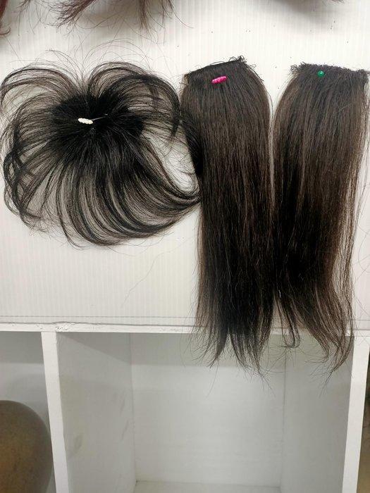 中髮旋  左右增蓬髮片