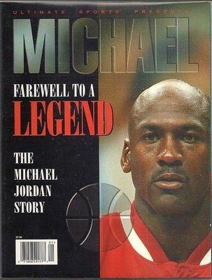 THE FAREWELL TO A LEGEND:THE MICHAEL JORDAN STORY 喬丹 特刊