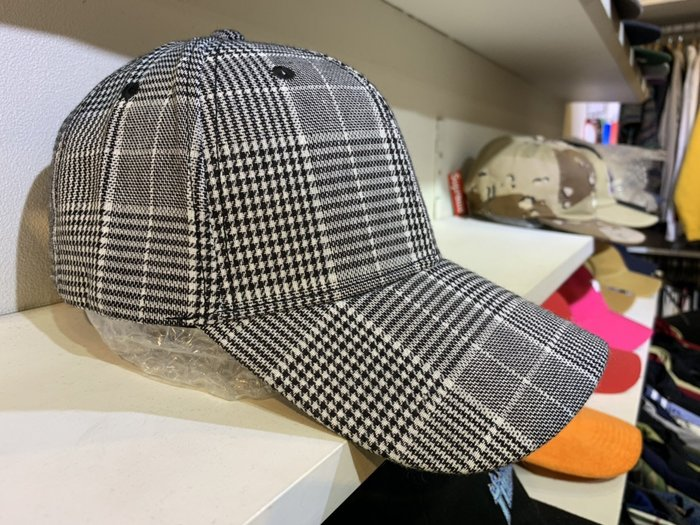 【inSAne】韓國購入 / 格紋 / 拼接 / 老帽 / 單一尺寸 / 可調款