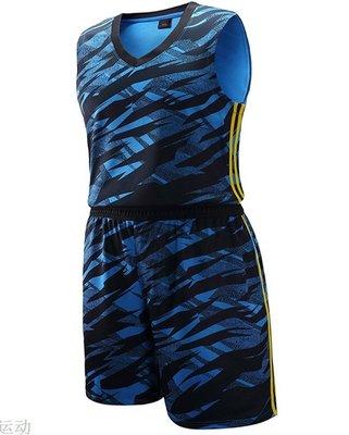 籃球服套裝 男女球隊球衣籃球比賽訓練服DIY定制印字印號健身運動服