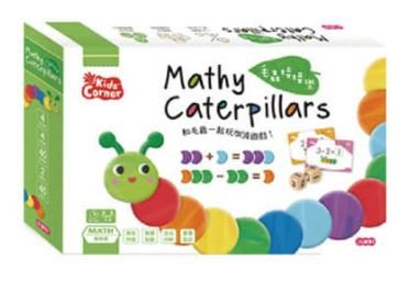 ☆天才老爸☆→【小康軒】Kids' Corner 毛蟲接接樂←親子 繪本 桌遊 童書 立體書 共讀 拼圖 學習