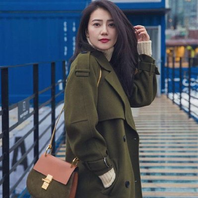 =EF依芙=韓國首爾 時尚精品 東大門同步 茵蔓8176 正韓 流行前線 時尚毛衣  大衣 外套 風衣