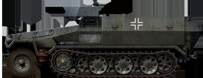 [五星上將] 1/35 德軍SdKfz 251半履帶車各型-2[代工客製化]