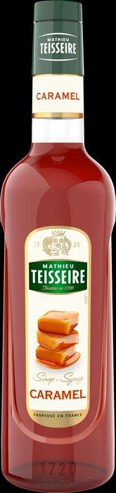 Teisseire 糖漿果露-焦糖風味 Caramel  法國頂級天然糖漿 1000ml-【良鎂咖啡精品館】