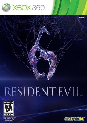 全新未拆 XBOX 360 惡靈古堡6 Biohazard 6 Resident Evil 6 -英文版-