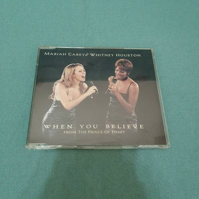 Mariah Carey & Whitney Houston When You Believe(Sony Asia發行版