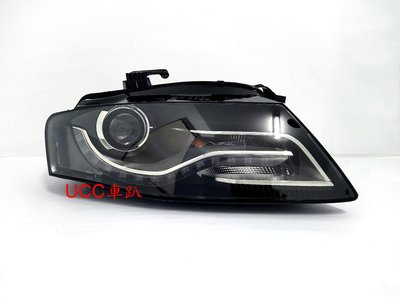 【UCC車趴】AUDI 奧迪 A4 08 09 10 11 B8 原廠型 HID 晶鑽大燈 TYC製 一組18000