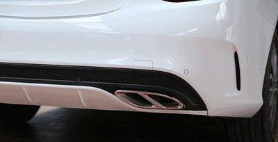 【易車汽配】賓士 BENZ W205 C180 C200 C250 C300 排氣管 排氣管飾框 尾飾管 四出 尾管裝飾 台北市