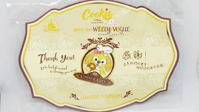 迪士尼  Cookie  Corner Cafe 徽章  限量版 Disney Cookie pin