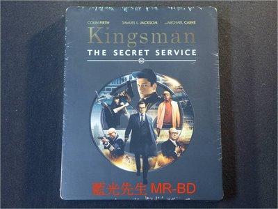 [藍光BD] - 金牌特務 Kingsman : The Secret Service BD-50G 限量鐵盒版