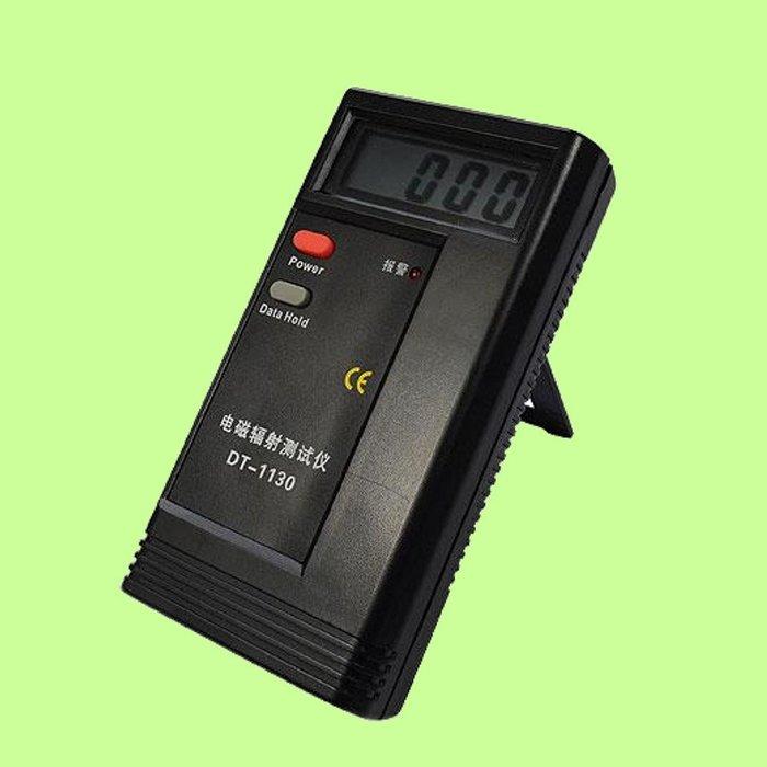 5Cgo【權宇】便攜式電磁輻射測試儀 檢測器 電腦屏幕 微波爐 電燈 電器 手機 工業 DT1130 含稅會員扣5%