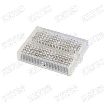 優質迷你麵包板透明170孔 Mini Self-Adhesive Breadboard w55 [30744-041]