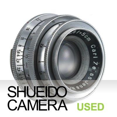 集英堂写真機【3個月保固】良品 CARL ZEISS JENA TESSAR 5cm F2.8 東德蔡司鏡頭 20565