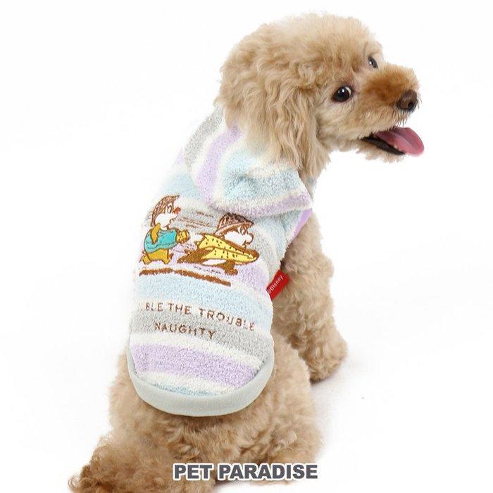 貝果貝果 日本 pet paradise 奇奇蒂蒂  追逐玩樂保暖連帽上衣 [D12318]