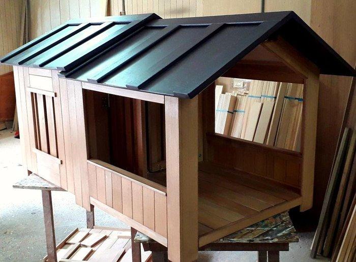 大型狗屋,老麥狗屋設計製作
