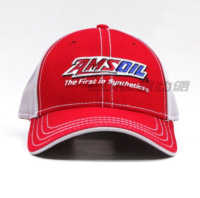【易油網】AMSOIL 限量賽車紀念帽子 紀念品 收藏 潮帽 原廠原裝