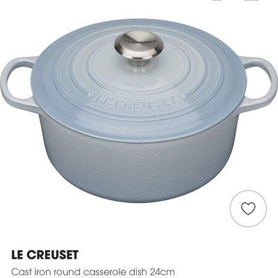 Le Creuset Cast Iron 24 cm 圓鍋