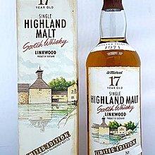 Linkwood 1971 17 years whisky 700ml Mark & Spencer's St Michael Oak x Barrels
