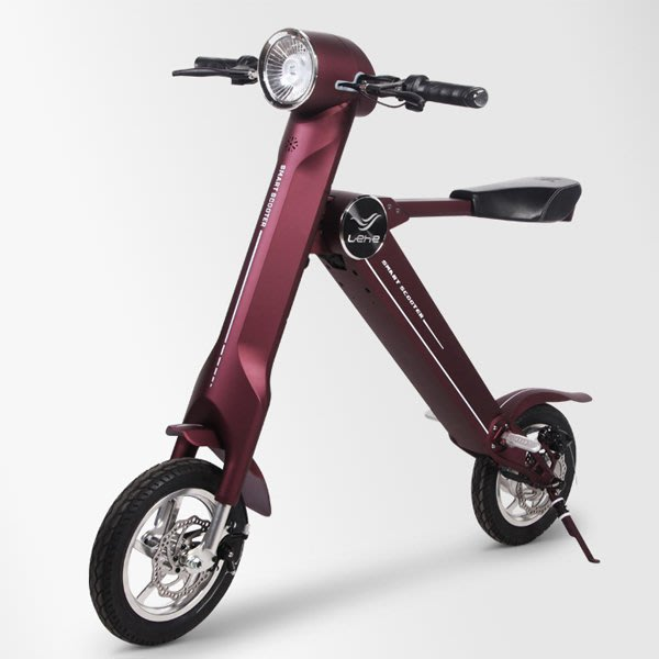 5Cgo 【批發】含稅會員有優惠 543336848694 EHE-k2小型折疊電動車 單車電瓶車 迷你代步車 火星車